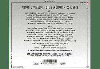 Orchestra Da Camera Dell'arte - Berühmte Konzerte  - (CD)