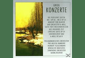 Königlich Dänisches Symphonie Orchester - Grieg, Edvard  - (CD)