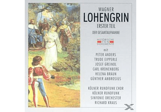 Kölner Rundfunkchor+Sinf.Orch - Lohengrin Erster Teil  - (CD)