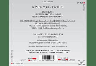 CHOR & ORCH. DER MAILÄNDER OPER - Rigoletto  - (CD)