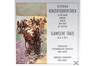 VARIOUS - Konzert-Ouvertüren/Slaw.Tänze  - (CD)