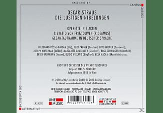 Chor Des Wiener Rundfunks & Orchester Des Wiener Rundfunks - Die Lustigen Nibelungen  - (CD)