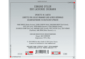 Chor & Orch.Des Wiener Rundfunks - Der Lachende Ehemann  - (CD)
