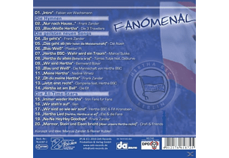 VARIOUS - Hertha Bsc-Fanomenal  - (CD)