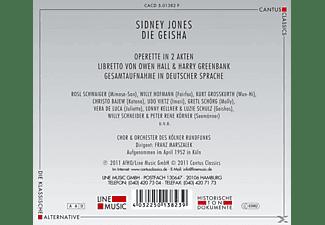 Chor Und Orchester Des Kölner Rundfunks - Die Geisha (Ga)  - (CD)