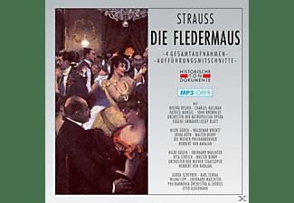 Wiener, Chor & Orchester Der Metropolitan Opera - Die Fledermaus-Mp 3 Operette  - (MP3-CD)
