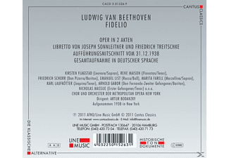 Chor & Orchester Der Metrolpolitan Opera New York - Fidelio  - (CD)