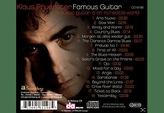 Klaus Pruenster - Famous Guitar  - (CD)