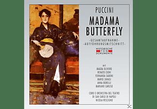 Coro E Orchestra Del Teatro Di San Carlo Di Napoli - Madama Butterfly  - (CD)