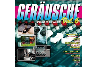 VARIOUS - Geräusche Vol.6-Sounds Of The World  - (CD)