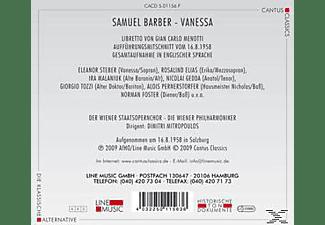 Wiener Staatsopernchor - Vanessa  - (CD)