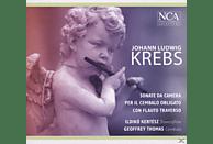 KERTESZ,ILDIKO & THOMAS,GEOFFREY - Sonata Da Camera Per Il Cembalo Obligato Con Flauto Traverso [CD]