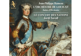 VARIOUS - Jean-Philippe Rameau & The Orchestra Of Louis XV - (CD)