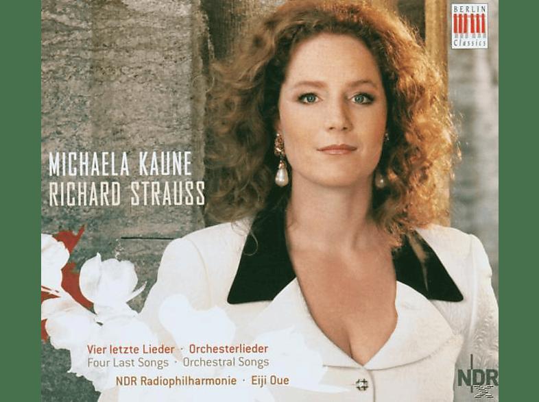 Michaela Kaune, Michaela/ndr Philh/oue Kaune - Vier Letzte Lieder/Orch.Lieder [CD]