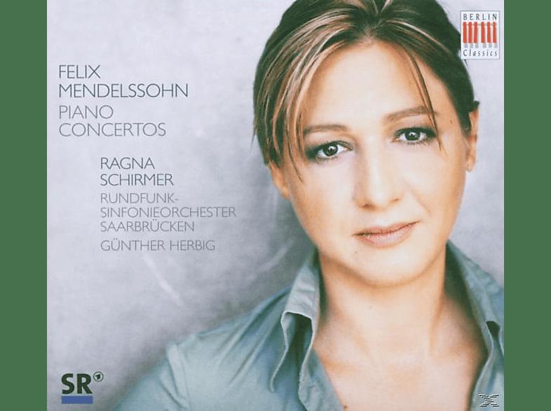 RSO SAARBR., Schirmer,Ragna/Herbig,G./RSOSB - Klavierkonzerte 1+2/Capriccio Brillant Op.22/Rondo [CD]