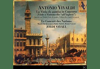 Jordi Savall, Le Concert Des Nations - La Viola Da Gamba In Concerto  - (CD)