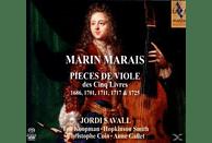 Koopman, Smith, Savall, Coin, Gallet - Pieces De Viole Des Cinq Livres [CD]
