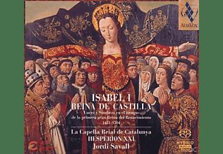 Jordi Savall - ISABEL I REINA DE CASTILLA  - (CD)