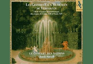 Jordi Savall, Le Concert Des Nations - Les Grandes Eaux Musicales De  - (CD)