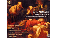 La Capella Reial De Catalunya - Requiem KV 626/ Maurerische [Hybrid SACD] [SACD]