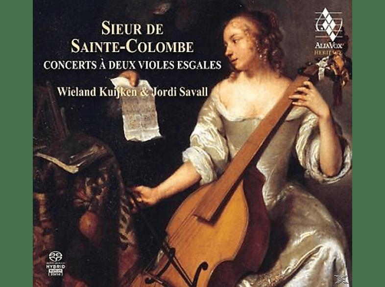 Jordi Savall, Wieland Kuijken - Gambenkonzerte [SACD Hybrid]