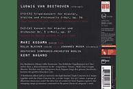 Moser, Blacher, Dsob, Nagano, Kodama - Klavierkonzert 3/Tripelkonzert [CD]