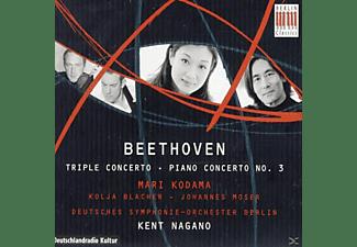 Moser, Blacher, Dsob, Nagano, Kodama - Klavierkonzert 3/Tripelkonzert  - (CD)