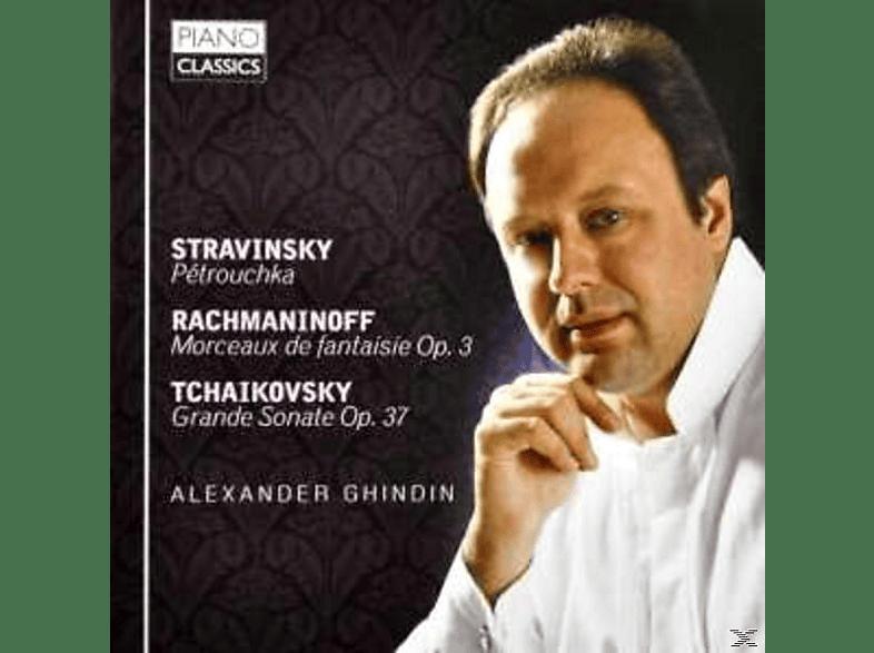 Alexander Ghindin - 3 Sätze Aus Petruschka [CD]