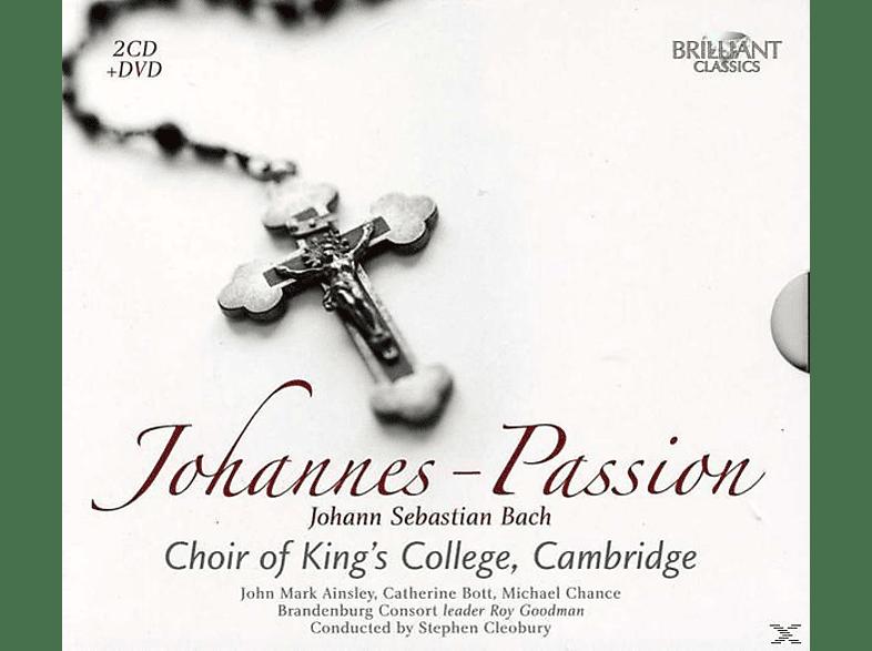 King's College Choir,Cambridge/Cleobury,Stephen - J.S.Bach: Johannes Passion [CD]