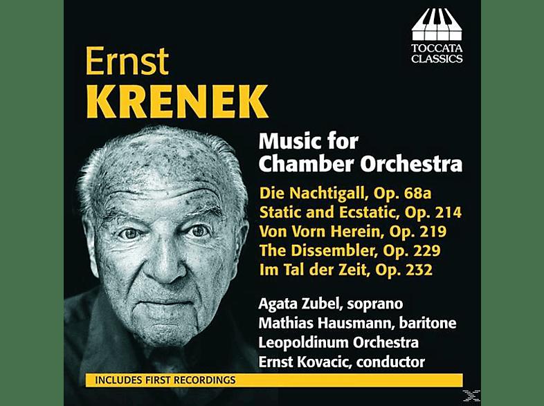Agata Zubel, Mathias Hausmann, Leopoldinum Orchestra - Musik für Kammerorchester [CD]