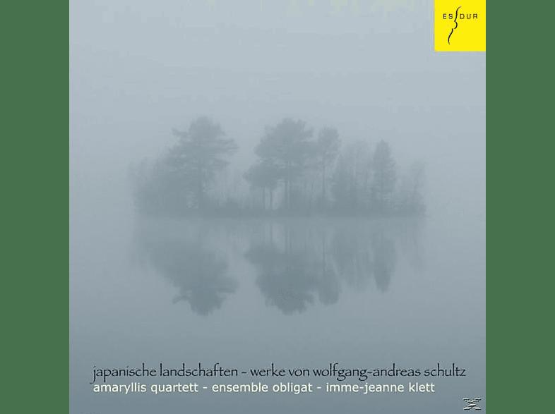 Amaryllis Quartett, Ensemble Obligat, Imme Jeanne Klett - Japanische Landschaften [CD]