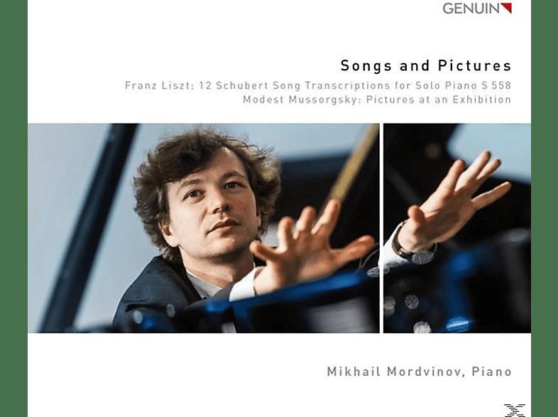 Mikhail Mordvinov - Lieder und Bilder-Pictures at an Exhibition/+ [CD]