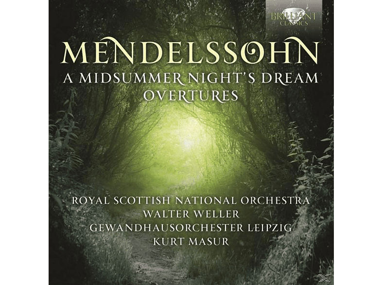 Royal Scottish National Orch. - Midsummer Night's Dream/Overtures [CD]
