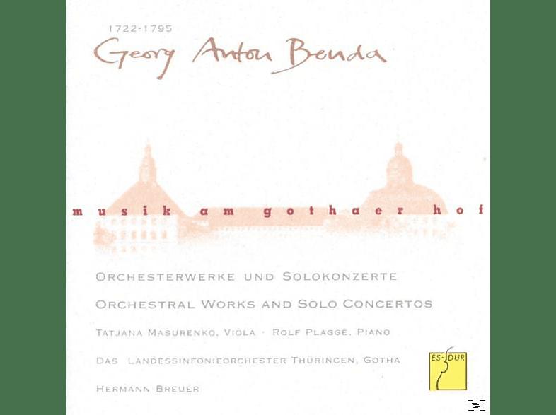 Tatjana Masurenko, Thüringen Philharmonie, Plagge Rolf - Musik am Gothaer Hof: Georg Anton Benda [CD]