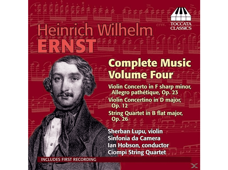 Lupu/Ciompi String Quartet/Hobson - Violinkonzert/Concertino/Streichquartett [CD]