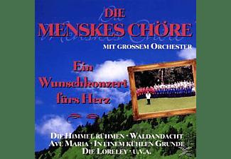 Menskes Chöre - Ein Wunschkonzert Fürs Herz  - (CD)