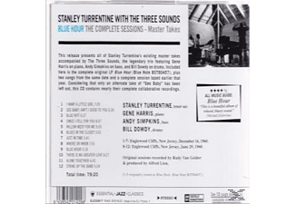 Stanley Turrentine, The Three Sounds - Blue Hour: The Complete Session  - (CD)