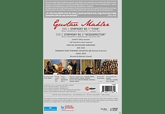 VARIOUS, Chor Des Bayrischen Rundfunks, Ndr Chor, Radio Symphony Orchestra Frankfurt - Symphonies Nos. 1 & 2  - (DVD)