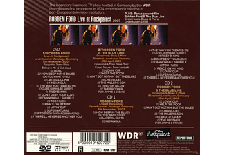 Robben Ford - Live At Rockpalast 1998 & 2007  - (CD + DVD Video)