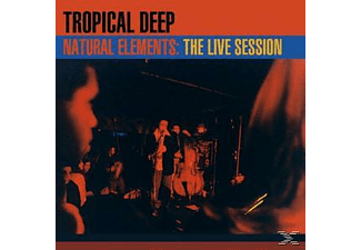 Tropical Deep - Natural Elements-Live Session  - (CD)