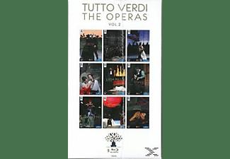 Tutto Verdi, VARIOUS - Tutto Verdi Operas Vol.2  - (Blu-ray)