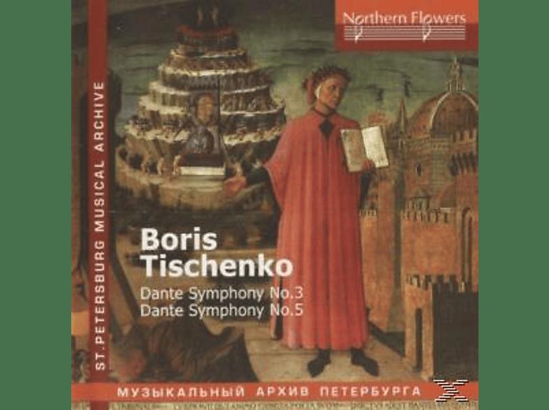 St.Petersburg Philarmonic Orchestra - Dante Sinfonien 3+5 [CD]