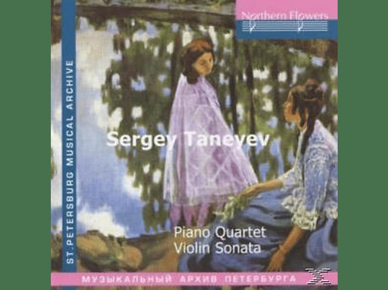 Eliso Virsaladze, Tamara Fidler - Piano Quartet/Violin Sonata [CD]