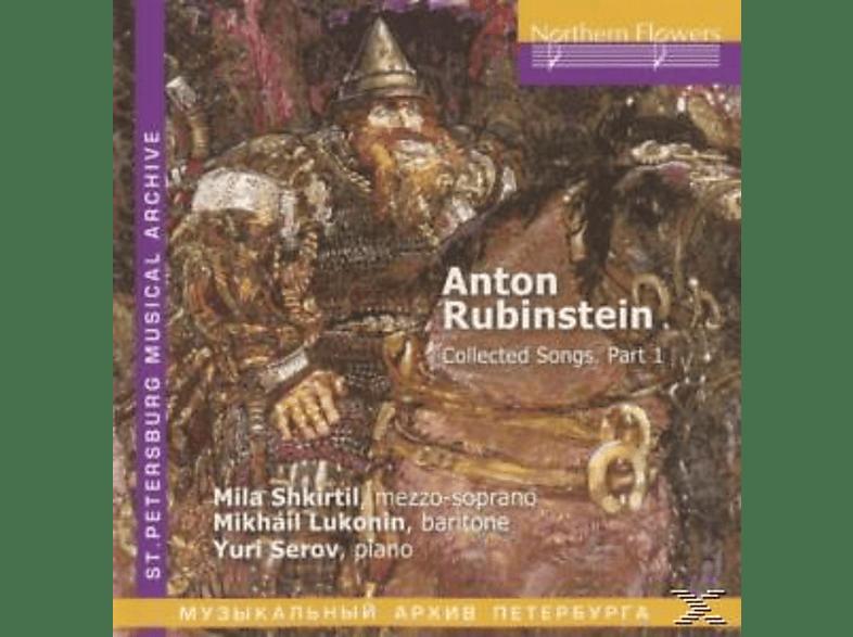 Mila Shkirtil, Mikhail Lukonin, Yuri Serov - Collected Songs Part 1 [CD]