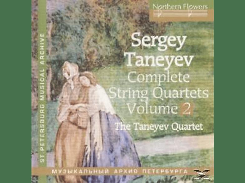 Taneyev Quartet - Complete String Quartets vol.2 [CD]