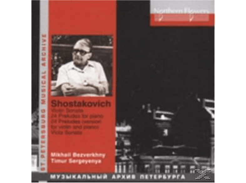 Mikhail Bezverkhny, Timur Sergeyenya - Violin Sonatas/Piano Works [CD]