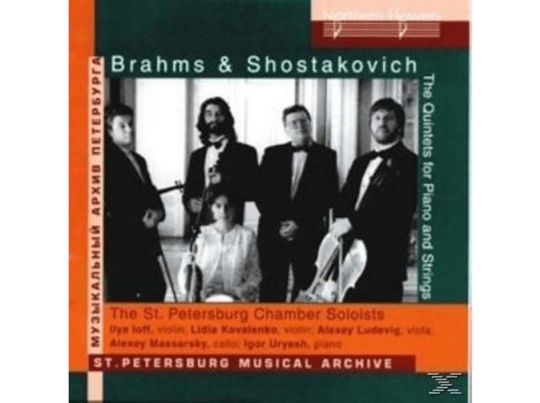 The St. Petersburg Chamber Soloists - Quitets for Piano and Strings [CD]