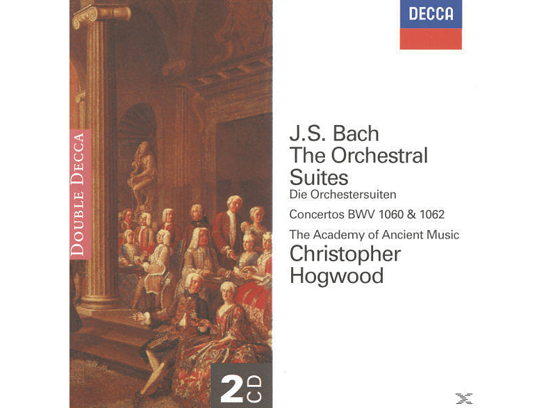Johann Michael Haydn, Christopher/aam Hogwood - Orchestersuiten 1-4/+ [CD]