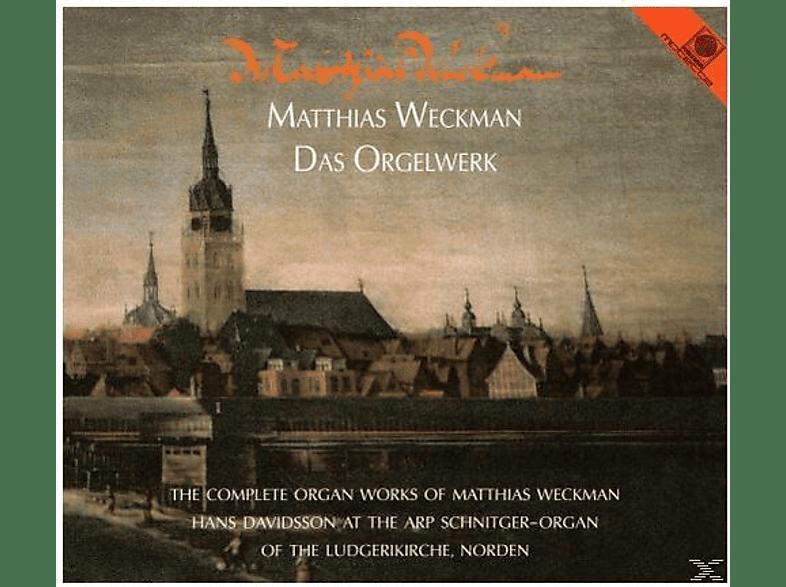 Davidsson Hans - Matthias Weckman - Das Orgelwerk (Arp-Schnitger-Orgel Norden) [CD]