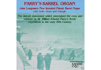 John Longman - Barrel Organ - (CD)